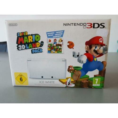 Nintendo 3DS + mario 3d land pack